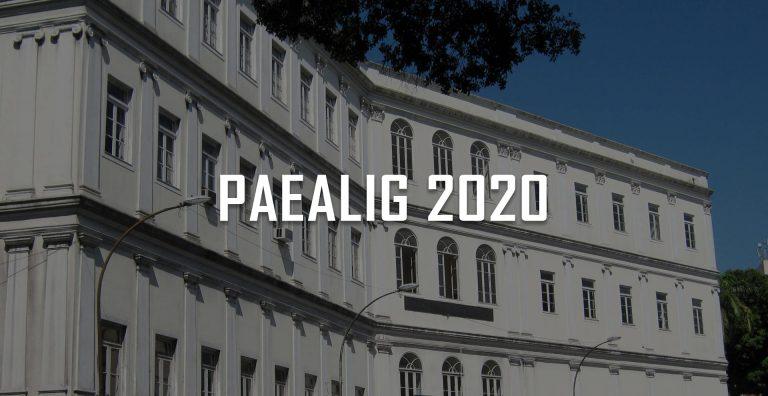 Seleção de Monitores PAEALIG 2020
